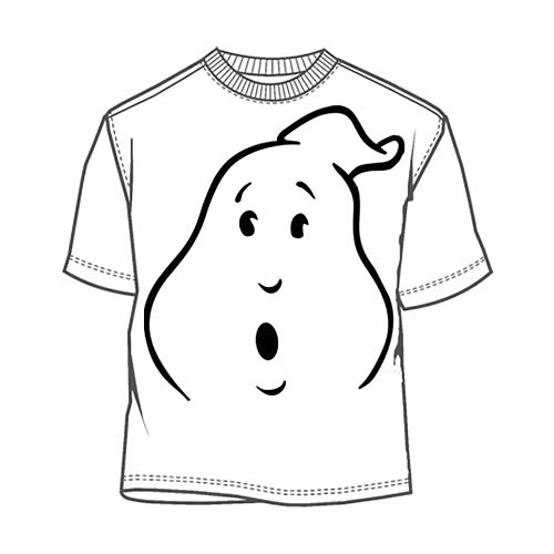 Ghostbusters Ghost Face T-Shirt