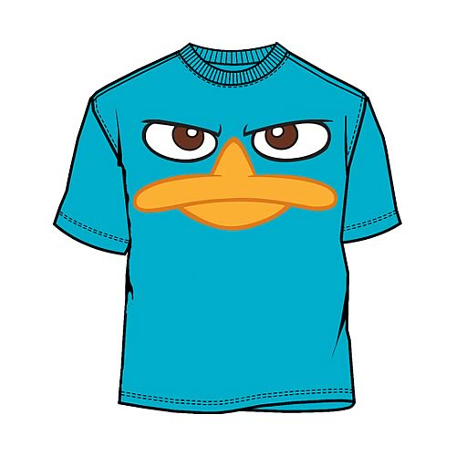 Phineas and Ferb Perry Face T-Shirt