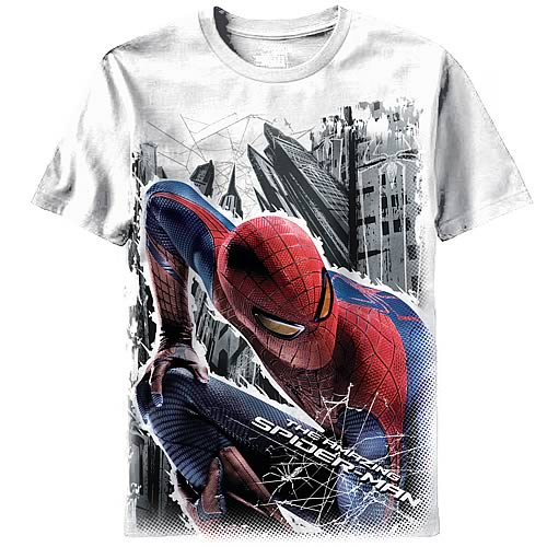 Amazing Spider-Man Stalin Spidey White T-Shirt