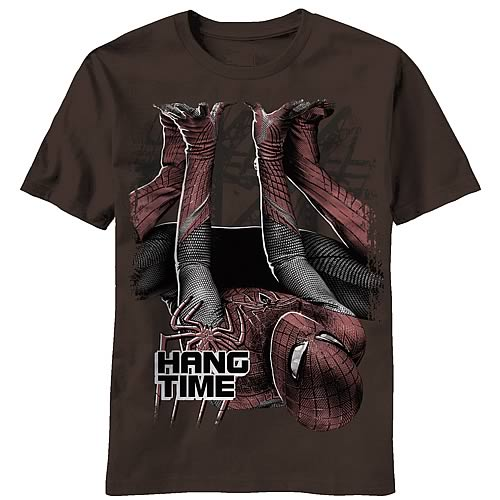 Amazing Spider-Man Downside Up Brown T-Shirt