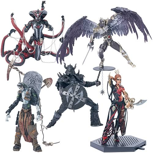Spawn Reborn Series 3 Action Figure Set (Revised)