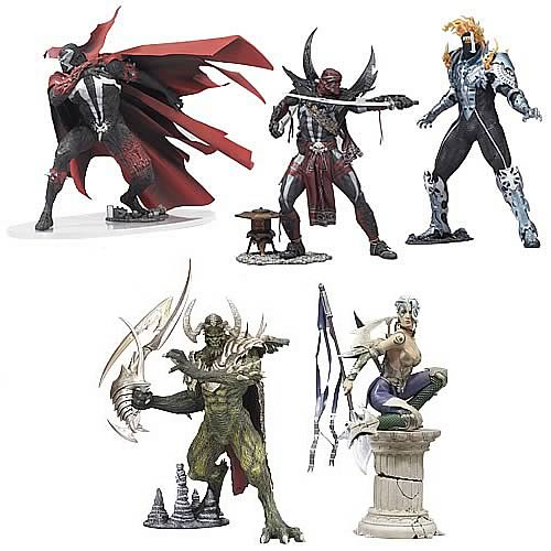Spawn Series 29 Action Figures Case