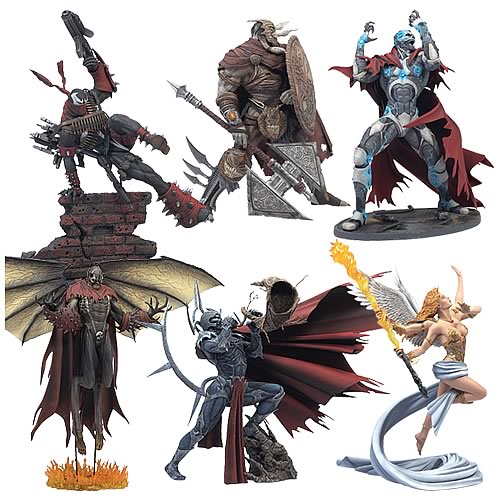 Spawn Series 31 Action Figures Case