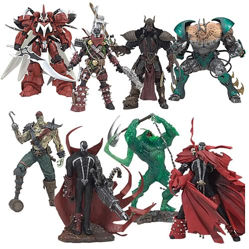 Spawn 3-Inch Trading Figures Series 2 6 Pack