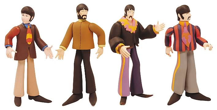 Beatles Yellow Submarine Series 1 Set