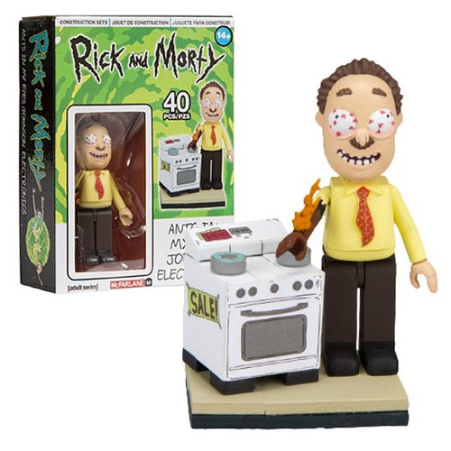 Rick and Morty Ants in my Eyes Johnson's Electronics Micro Construction Set