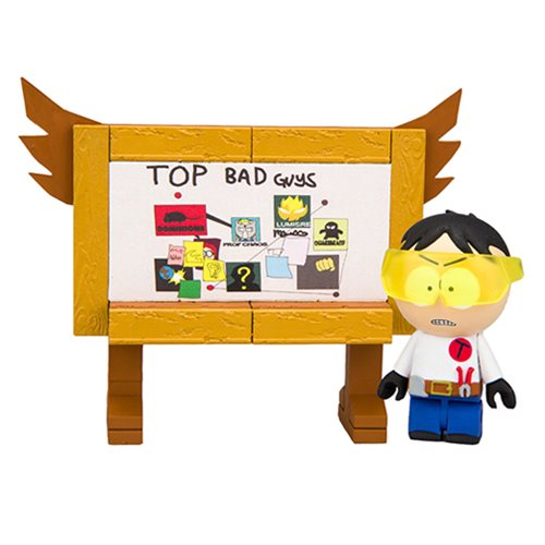 South Park Toolshed Stan with Top Bad Guys Board