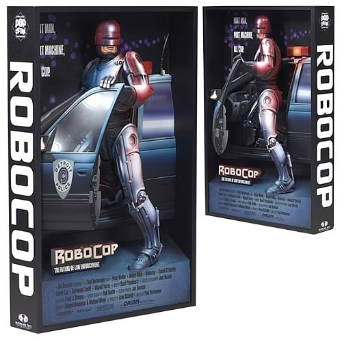 Robocop 3-D Movie Poster Sculpture