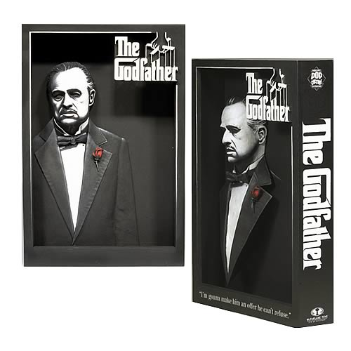 The Godfather 3-D Movie Poster Sculpture