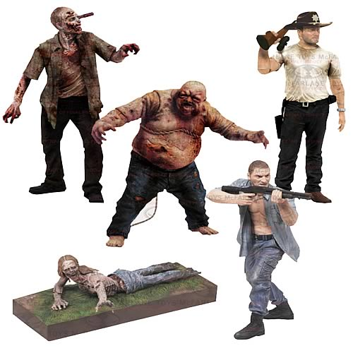 The Walking Dead TV Series 2 Action Figure Set