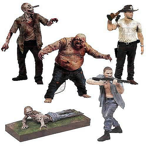 The Walking Dead TV Series 2 Action Figure Case