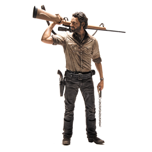 The Walking Dead TV Rick Grimes 10-Inch Deluxe Action Figure