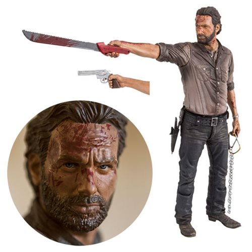 The Walking Dead Rick Grimes Vigilante Edition Action Figure