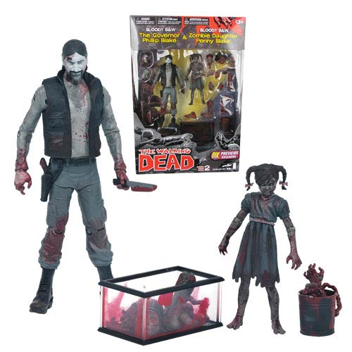 Walking Dead Comic Series 2 Governor and Penny Figure 2-Pack