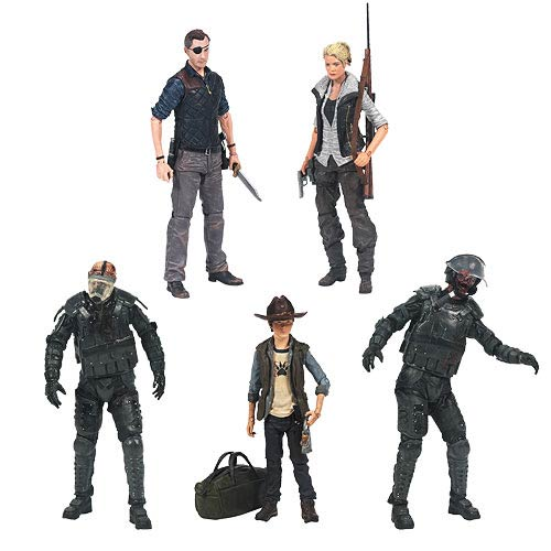 Walking Dead TV Series 4 Action Figure Set