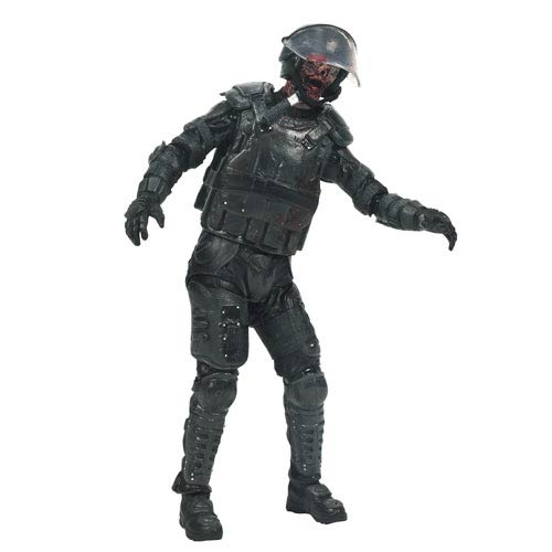 Walking Dead TV Series 4 Riot Gear Zombie Action Figure