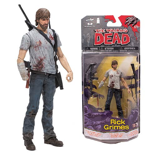 The Walking Dead Comic Series 3 Rick Grimes Action Figure