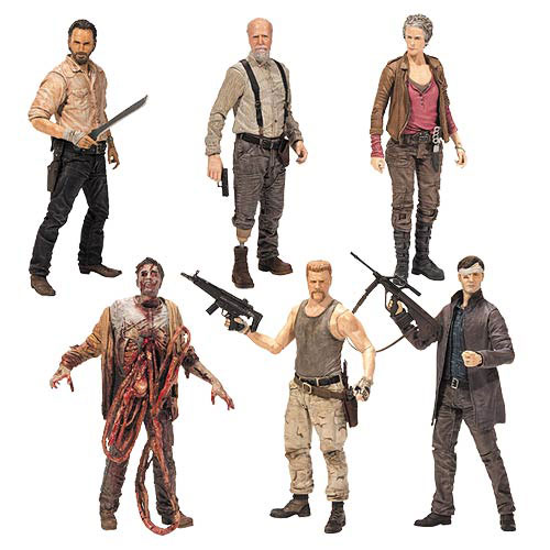 The Walking Dead Tv Series 6 Action Figure Set Mcfarlane