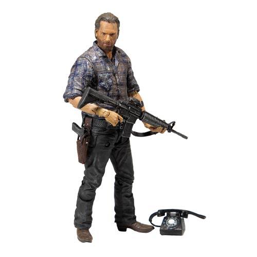 Figurine The Walking Dead : Rick Grimes  Boutique www.cartoon street