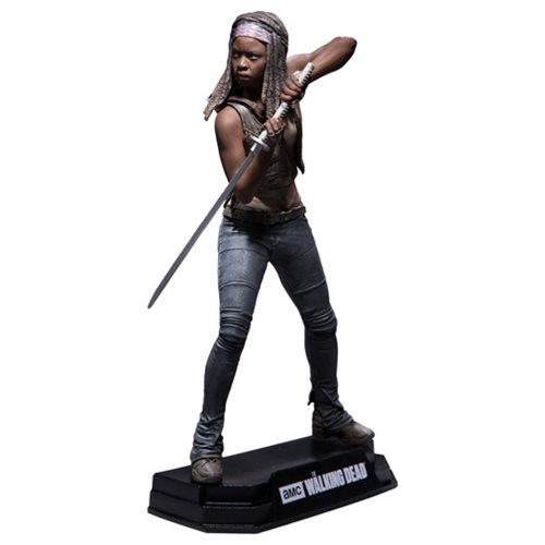 The Walking Dead Michonne 7-Inch Red Wave Action Figure