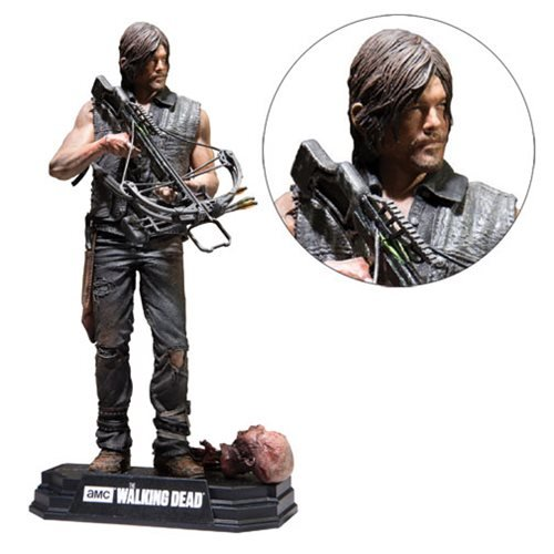 walking dead daryl dixon 7inch red wave action figure