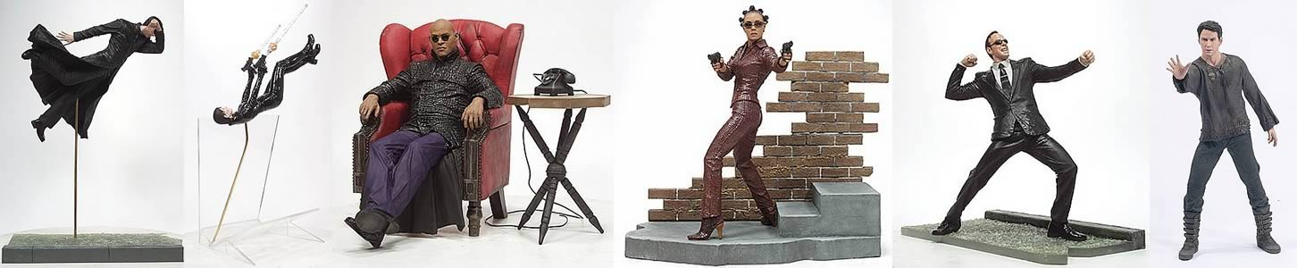 Matrix Revolutions Figure Asst