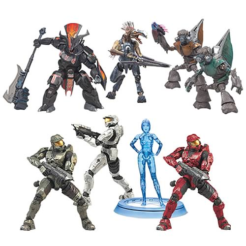 Halo 3 Series 1 Action Figures