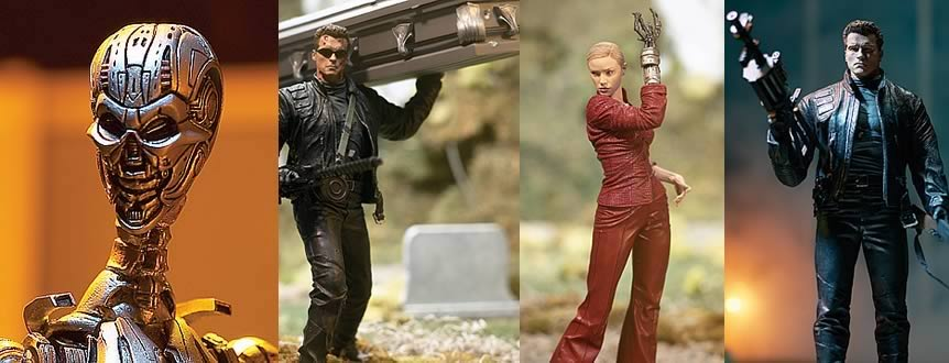 T3 Rise of the Machine Figures