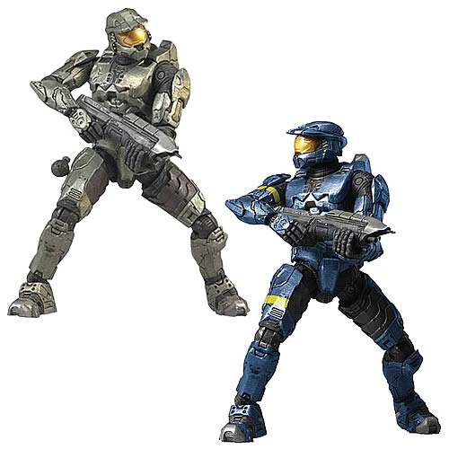 Halo 3 Mark VI 12-Inch Action Figures Set