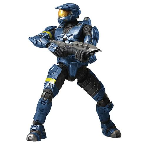 Halo 3 Blue Spartan Mark VI 12-Inch Action Figure