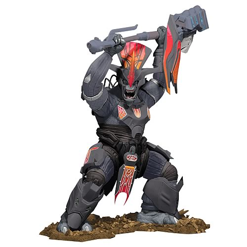 Halo 3 Legendary Collection Brute Chieftain Statue