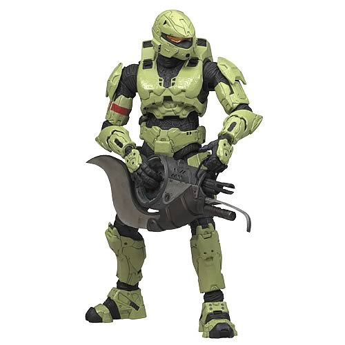 Halo 3 Series 3 Olive Spartan Soldier Rogue Action Figure