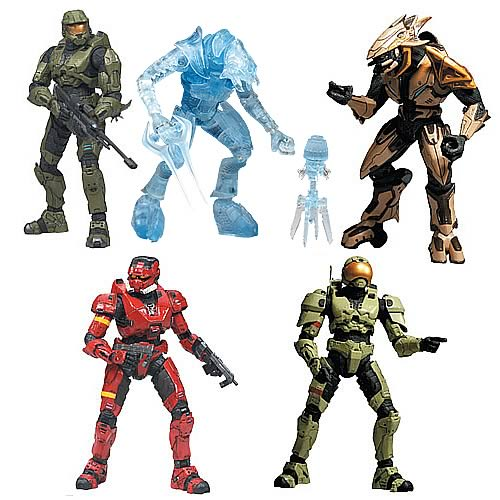 Halo 3 Series 4 Action Figure Case