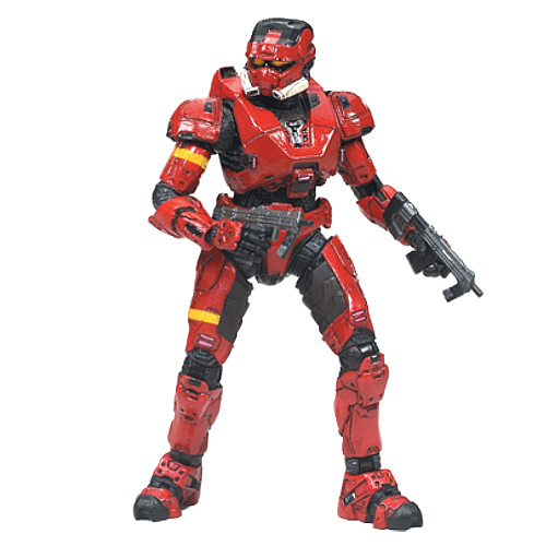 Halo 3 Series 4 Spartan Soldier EOD Action Figure