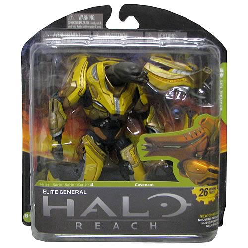 Halo Reach Series 4 Elite General Action Figure ...