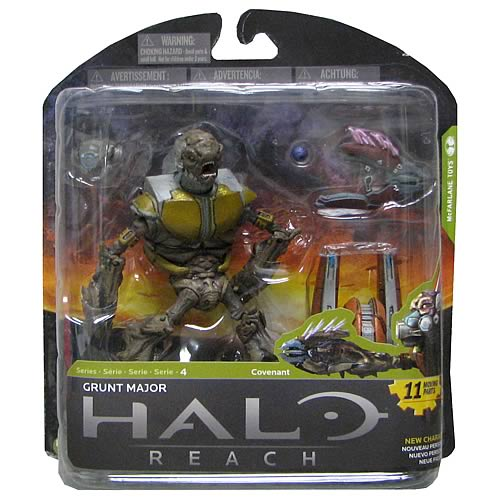 Halo Reach Series 4 Grunt Major Action Figure