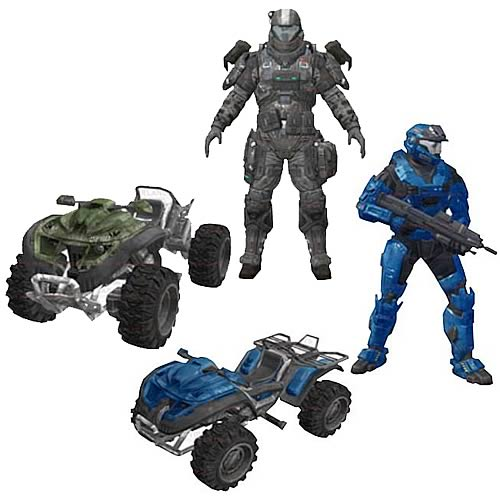 Halo Reach Exodus Rocket Race Mongoose Vehicle Box Set Case