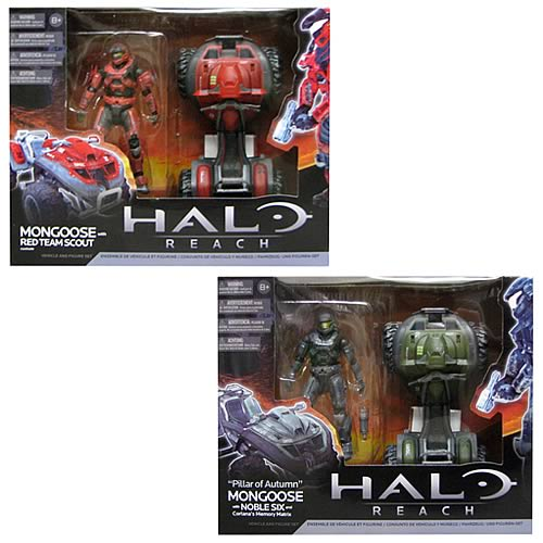Halo Reach Mongoose Vehicle Box Sets