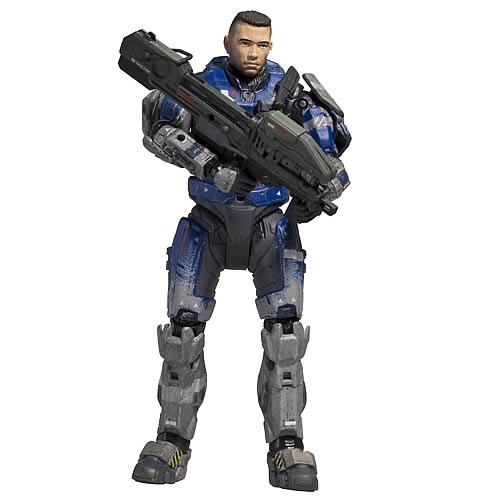 Halo Reach Series 5 Carter Unhelmeted Action Figure