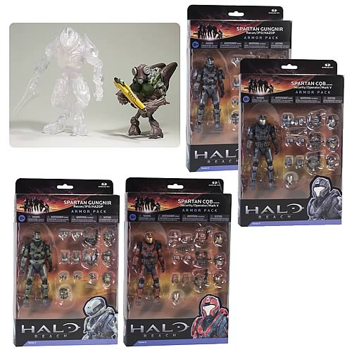 Halo Reach Series 5 2-Pack Action Figure Case