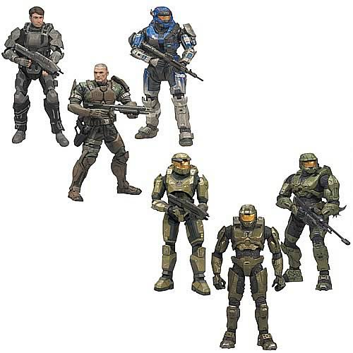 Halo Anniversary 3-Pack Action Figure Case