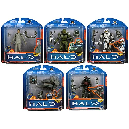 Halo Anniversary Series 2 Action Figure Case