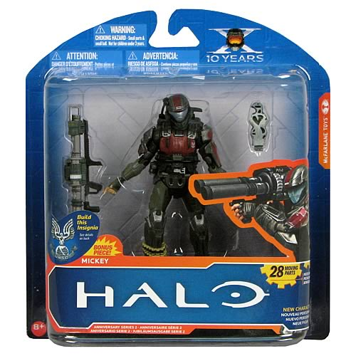 Halo Anniversary Series 2 Mickey Action Figure