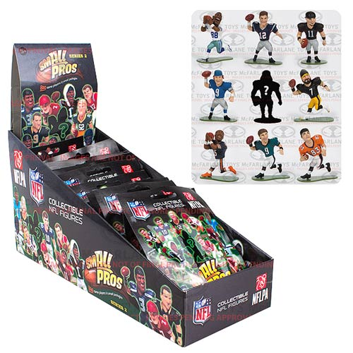 NFL Small Pros Series 1 Mini-Figure Display Box