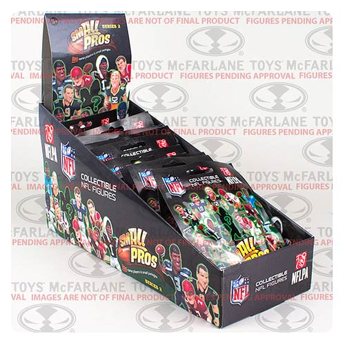 NFL Small Pros Series 3 Mini-Figure Display Box