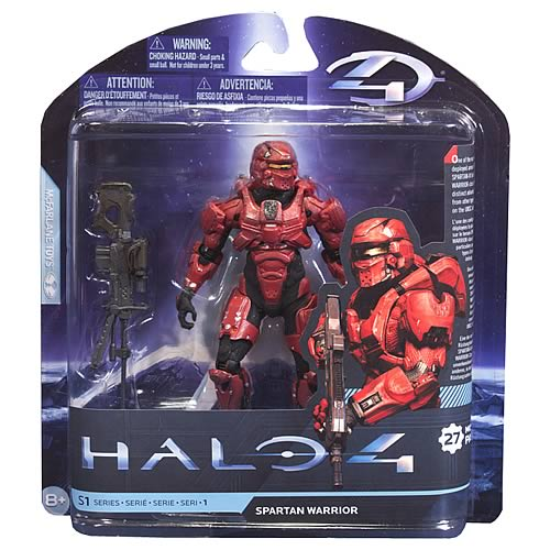 Halo 4 Series 1 Spartan Warrior Action Figure