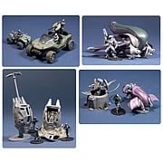 Halo Micro Ops Series 1 Small Carded Mini-Figures Set