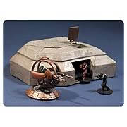 Halo Micro Ops High Ground Bunker, Shade Turret and Figures