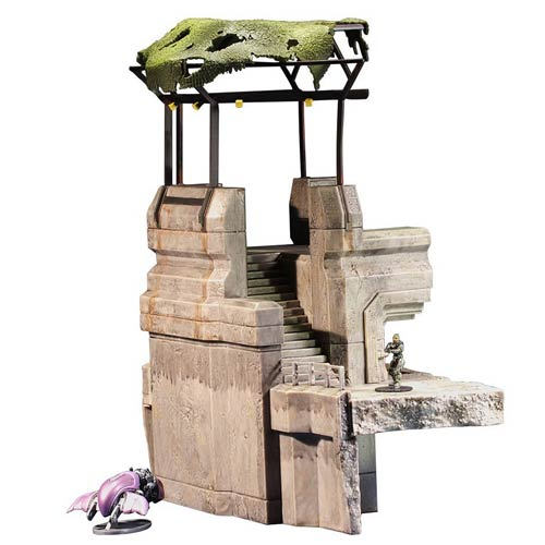 Halo Micro Ops High Ground Tower and Spartan