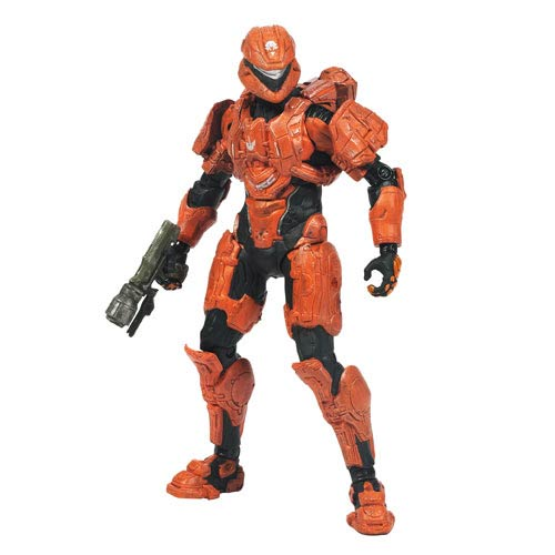 Halo 4 Series 2 Spartan Scout Team Orange Action Figure